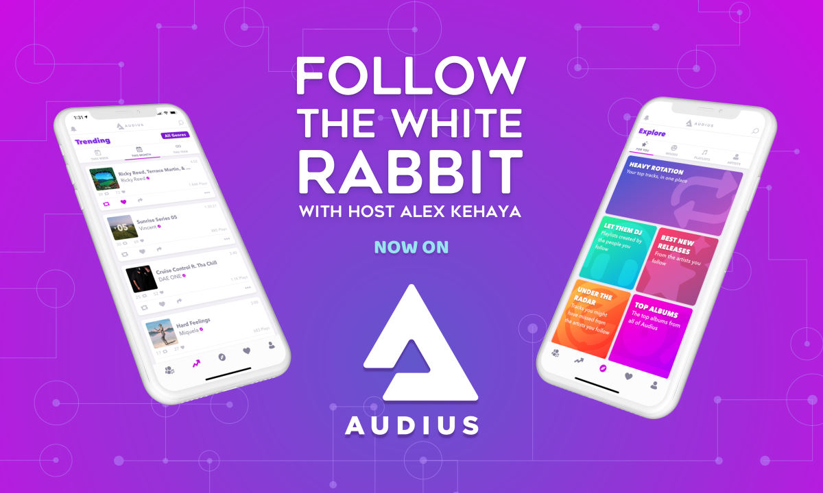 "Orchid's ""Follow the White Rabbit"" Podcast is Hopping Onto Audius"