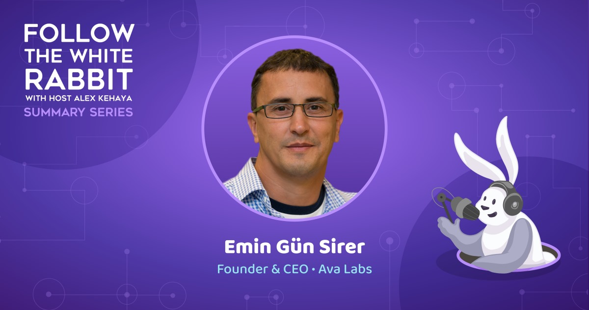 Emin Gün Sirer on the Asteroid Heading for Technological Dinosaurs