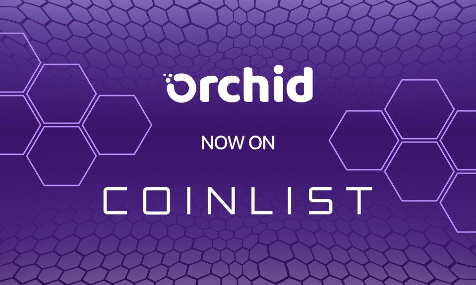 Orchid Continues to Build Momentum With Listing on CoinList