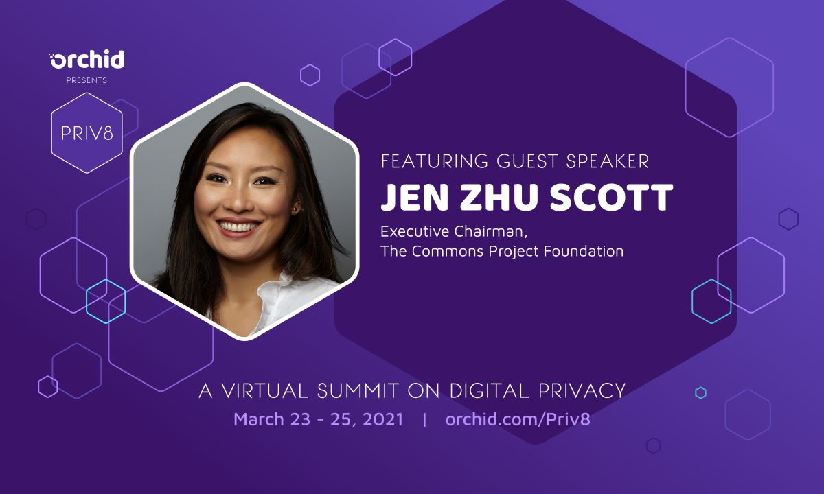 Jen Zhu Scott joins Priv8's expanding roster of speakers